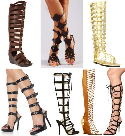 Knee-high-Gladiator-Sandals