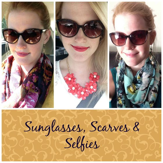 sunglassesscarvesselfies